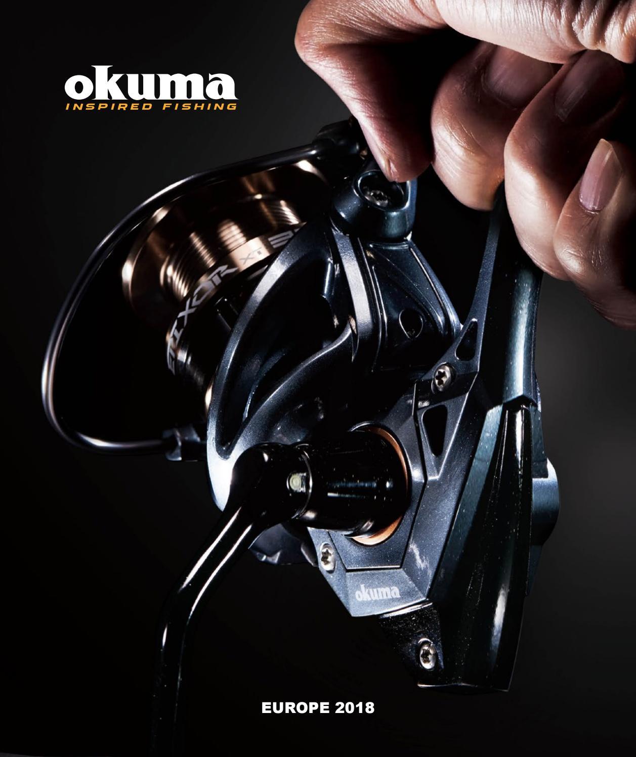 Okuma Proton ptn-30 Fixed Spool Reel Pre-spooled with Braid