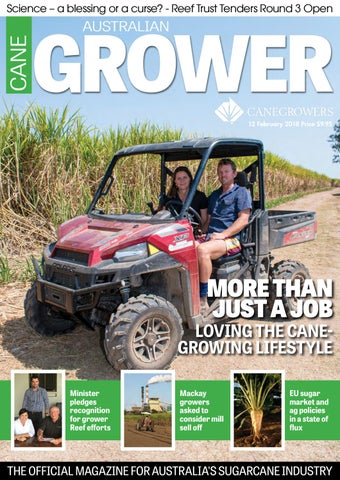 Australian Canegrower - 12 February 2018 by CANEGROWERS - issuu