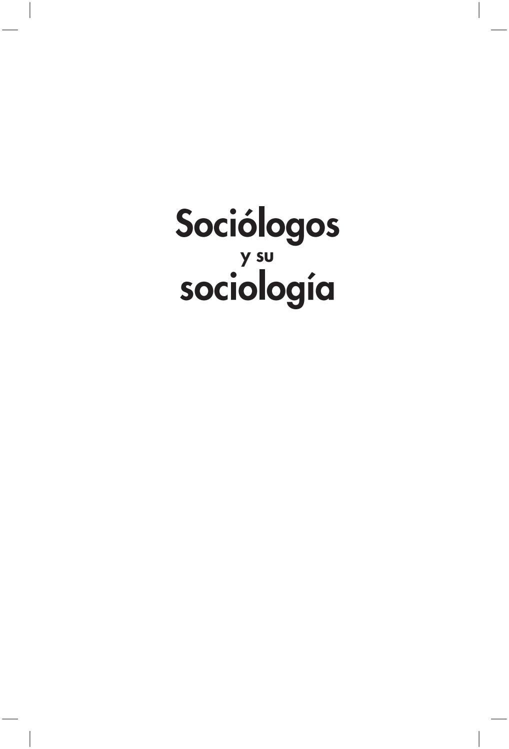 Sociologos libro by adocis88 - issuu