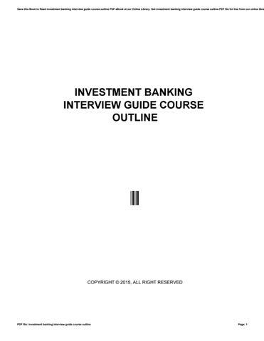 Bank Interview Books Pdf