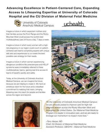 Fischer Proposal by University of Colorado Anschutz Advancement - issuu