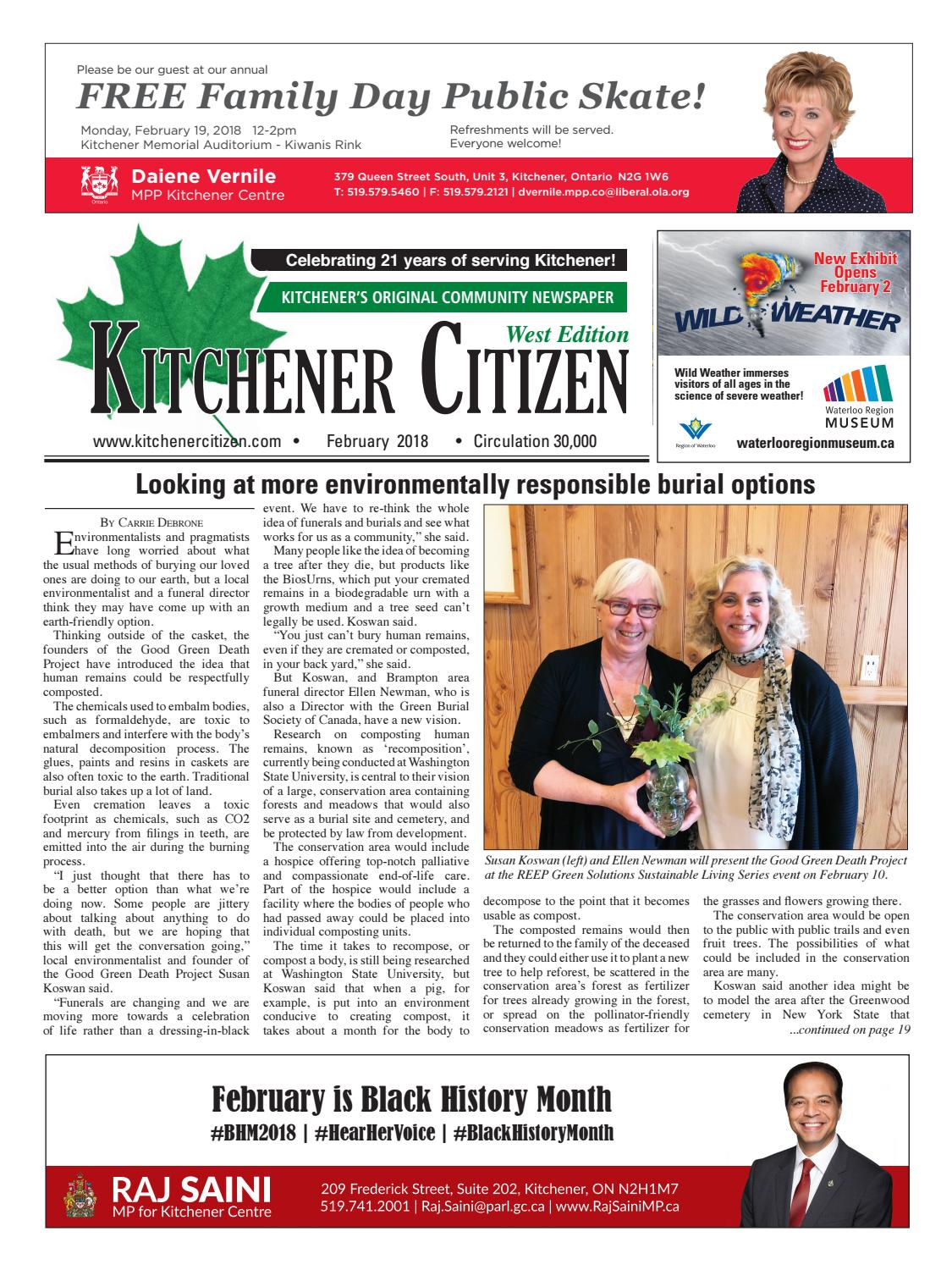 Kitchener Citizen - West Edition - February 2018 by Kitchener ...