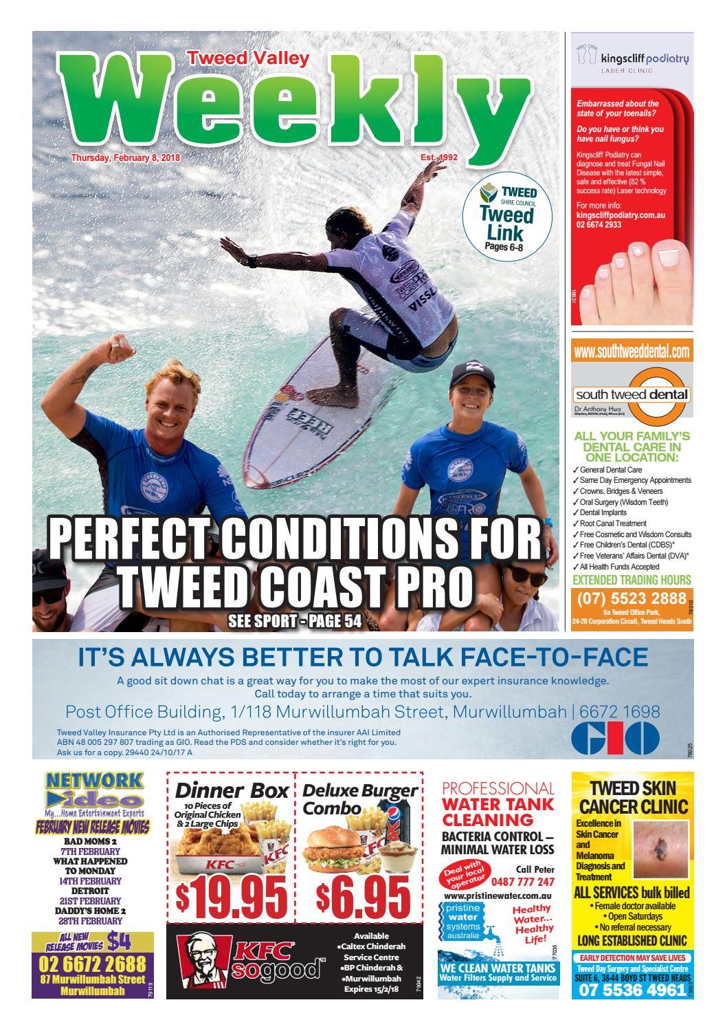 Tweed Valley Weekly, February 8, 2018 by Tweed Valley Weekly - issuu