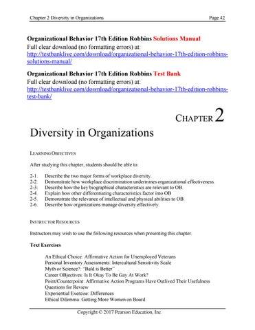Organizational Behavior Stephen P Robbins 12th Edition Pdf