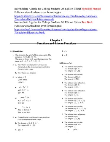Intermediate algebra for college students 7th edition blitzer intermediate algebra for college students 7th edition blitzer solutions manual full clear download no error formatting at fandeluxe Images
