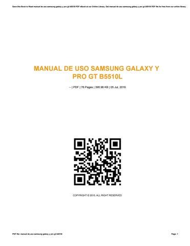 manual de uso samsung galaxy y pro gt b5510l by jklasdf91 issuu rh issuu com Samsung Galaxy Core 2 Samsung Galaxy Note Manual