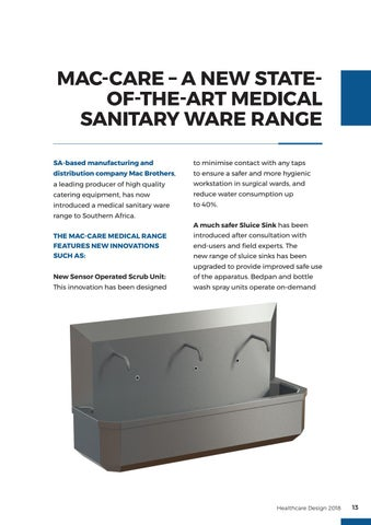 Page 13 of Bathroom Fittings & Medical Sanitaryware