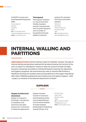 Page 54 of Internal Walling and Partitions
