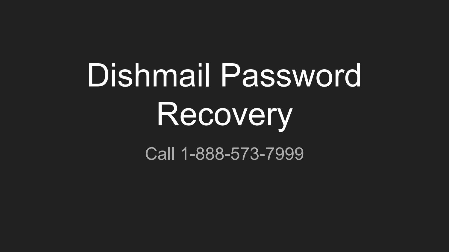 Dishmail login page