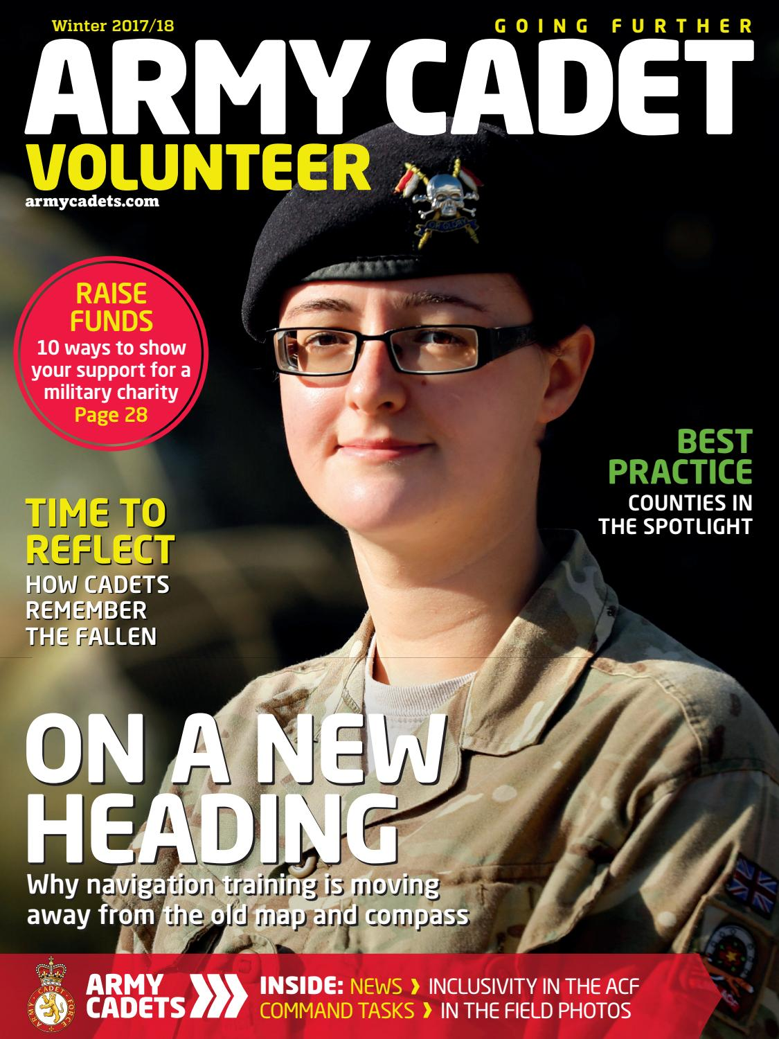 Afx Army Cadets army cadet volunteer winter 2017 / 18army cadets - issuu
