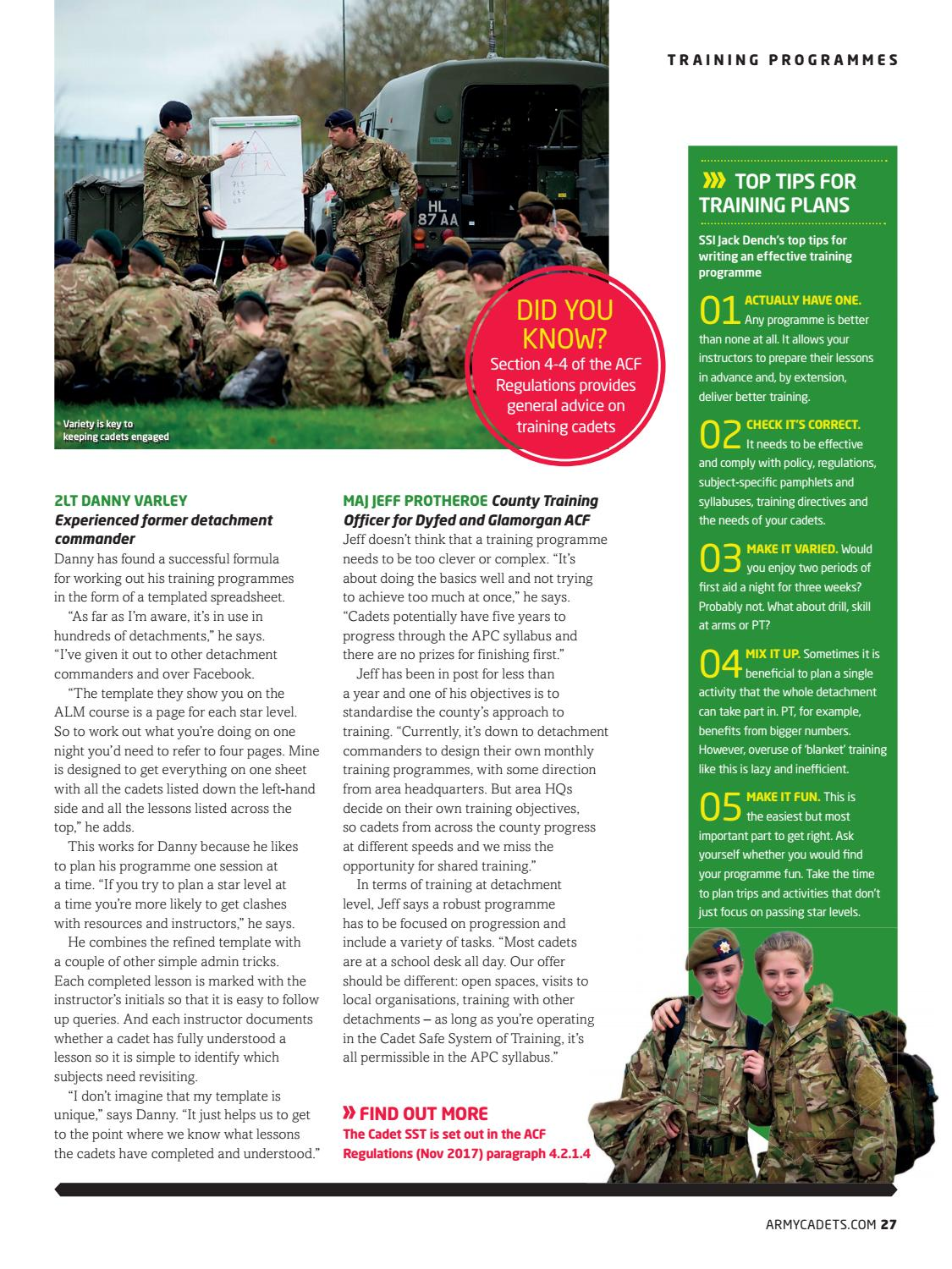 Army Cadet Volunteer Winter 2017 / 18 by Army Cadets - issuu