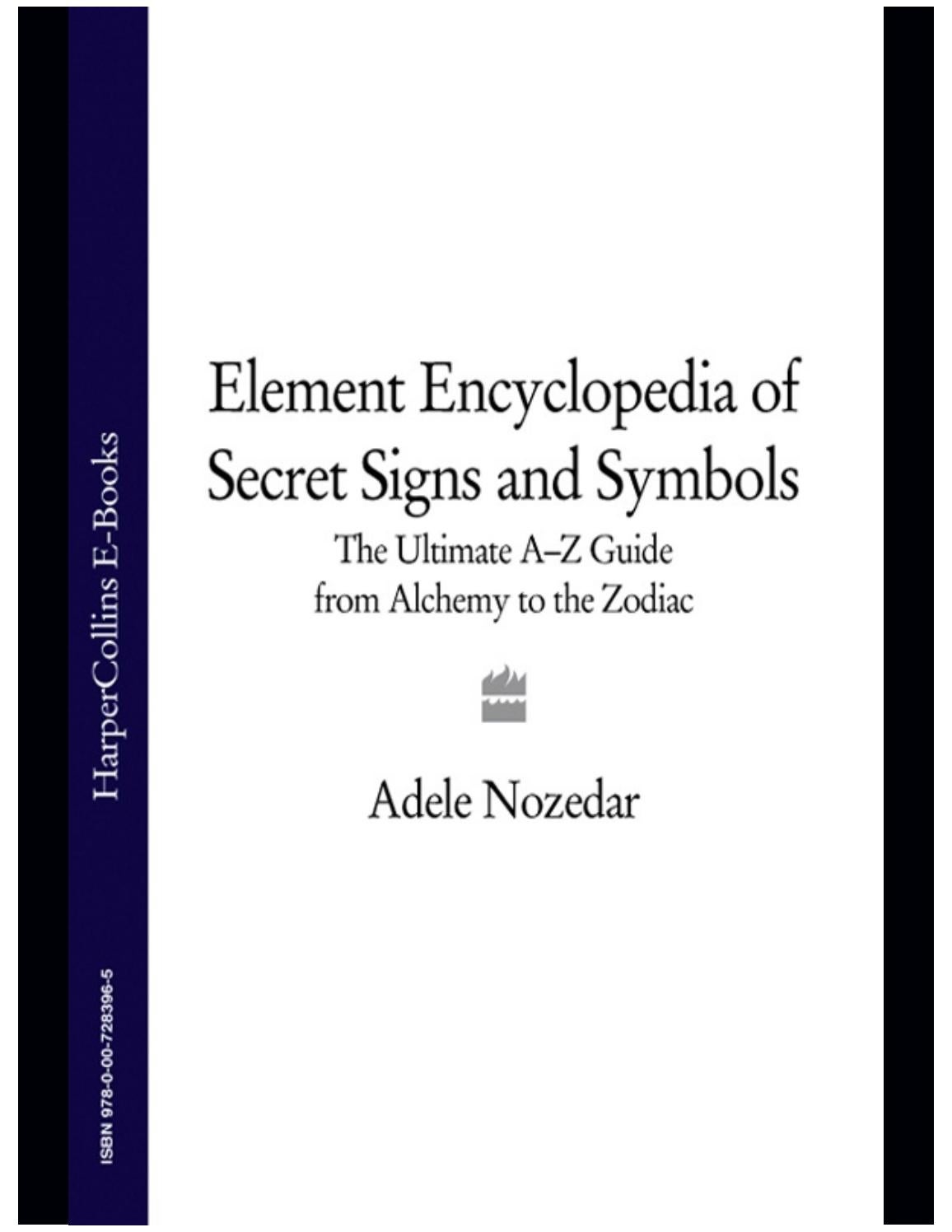 Encyclopedia of secret signs and symbols by Stav kesler - issuu 15af2a5e62e2