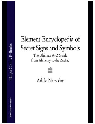 Encyclopedia Of Secret Signs And Symbols By Stav Kesler Issuu