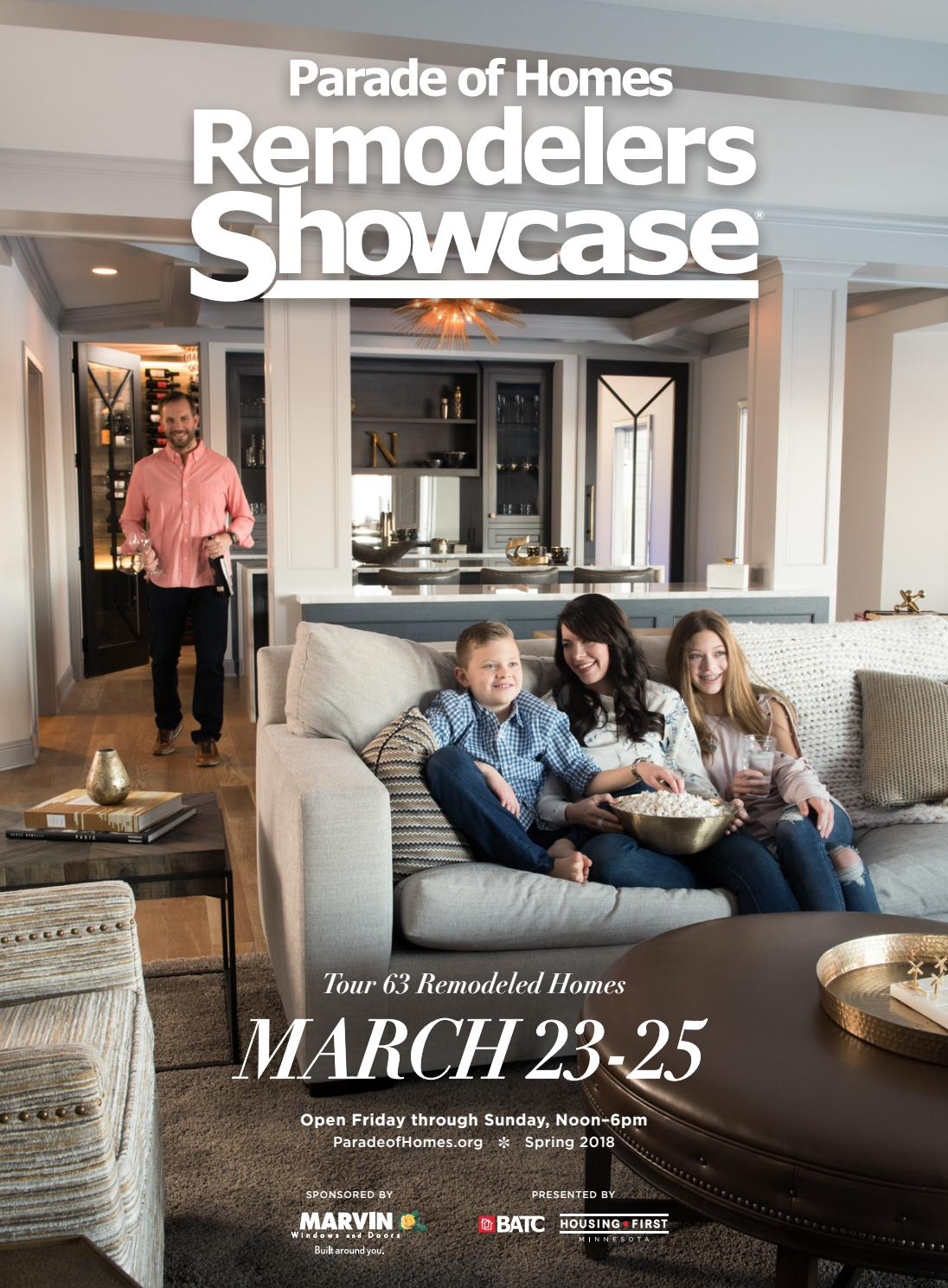 2018 Spring Parade of Homes Remodelers Showcase® Guidebook by BATC