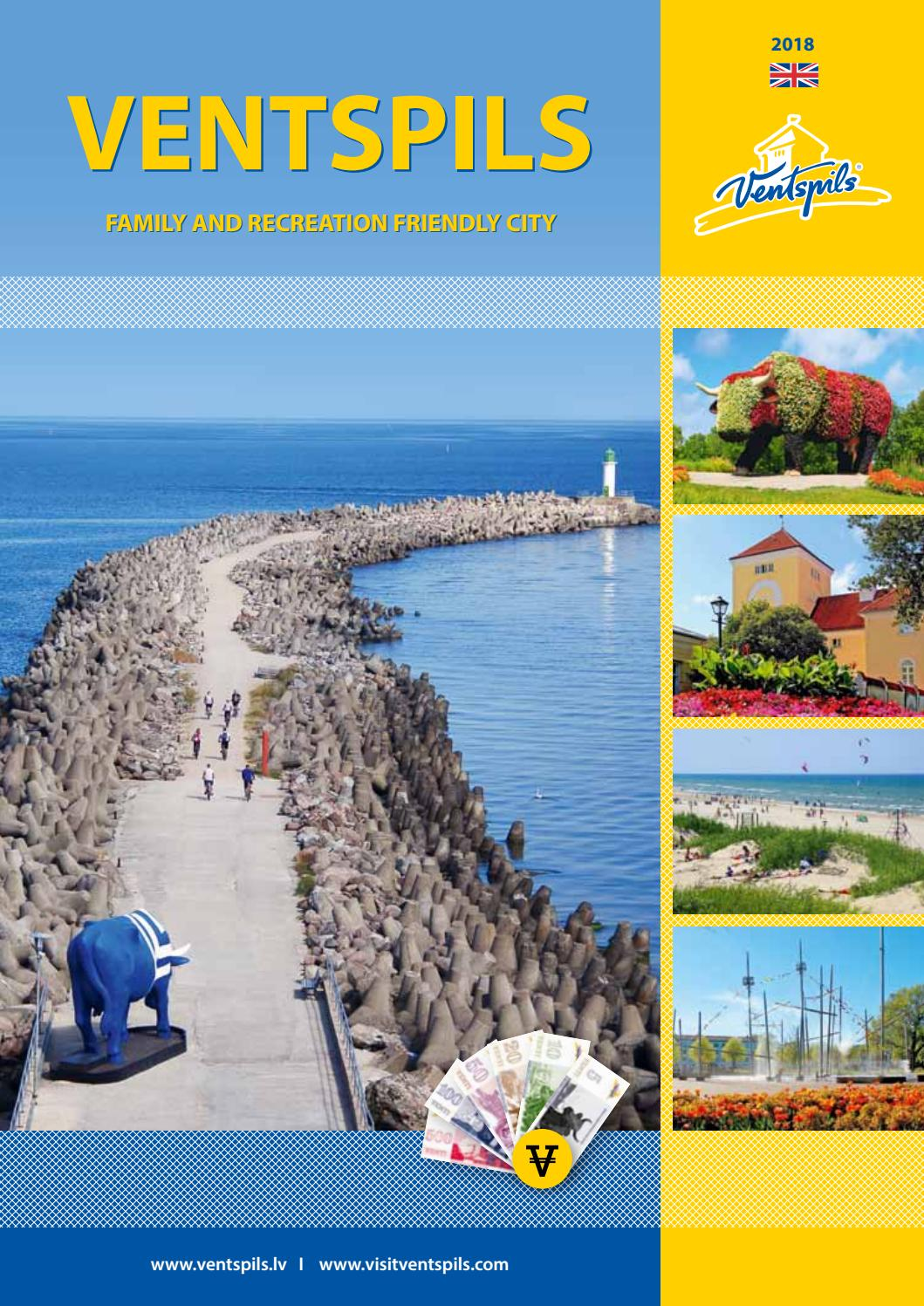 Ventspils Tourism brochure 2018 by Visitventspils - issuu