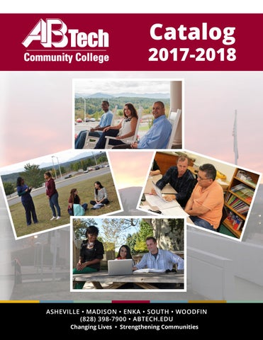 Catalog 2017 18 by asheville buncombe technical community college page 1 malvernweather Images