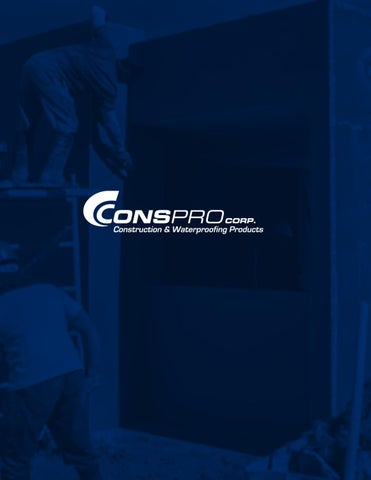 Conspro corp General_Catalogs 012018 by bull-bond - issuu