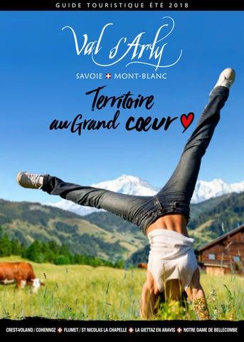 Guide Touristique été 2018 By Val Darly Mont Blanc Issuu