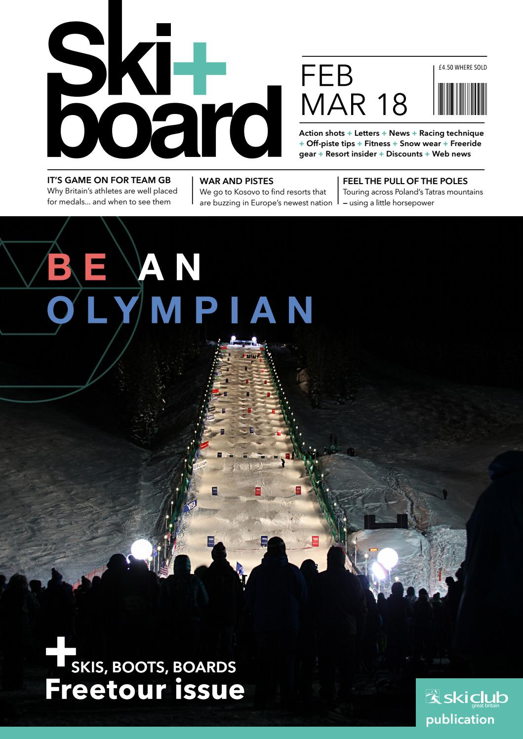 Ski Board February March 2018 By Club Of Great Britain Issuu Pir Sensor Wiring Diagram Darren Criss
