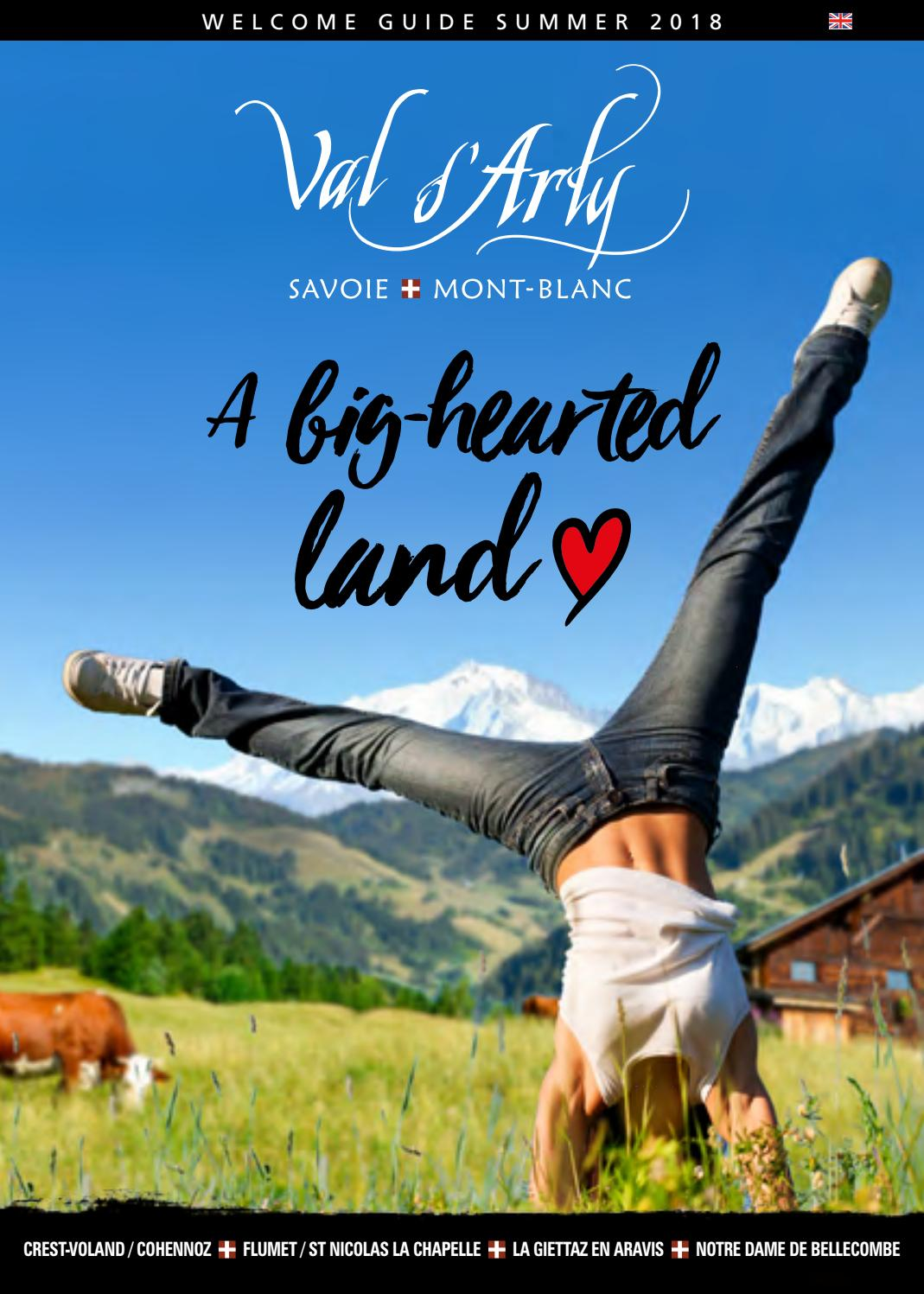 Summer Touristic Guide 2018 By Val D Arly Mont Blanc Issuu