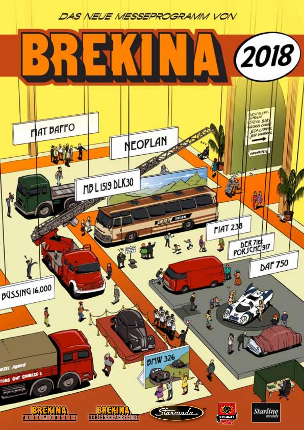 Brekina 24416-1//87 BMW 2000 Polizei Bern Neu