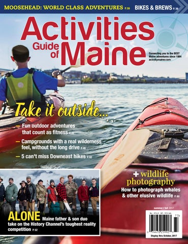 Activity Maine SUM 17 by Activity Maine - issuu