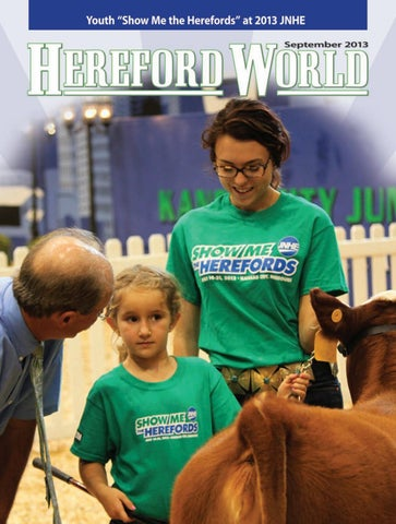 September 2013 Hereford World By American Hereford Association And