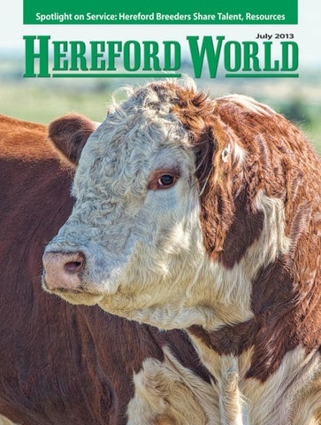 American Hereford | July 2011 Archives - American Hereford