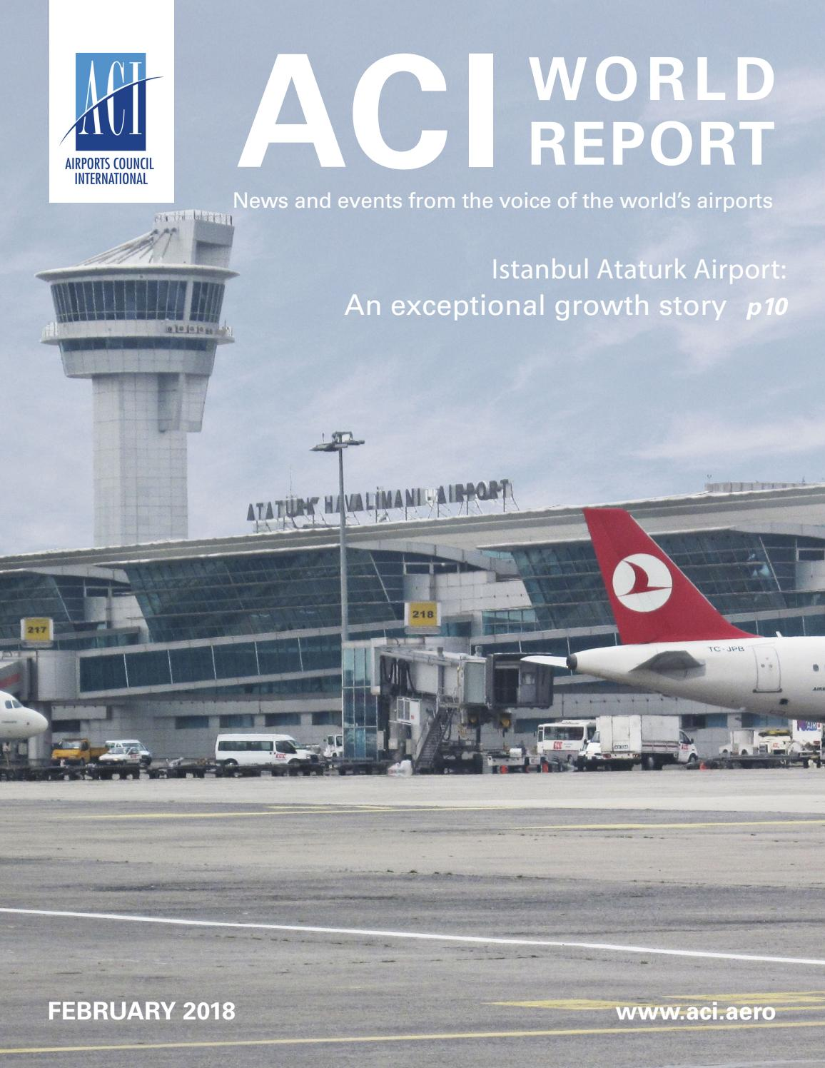 ACI World Report - February 2018 by Airports Council International - issuu
