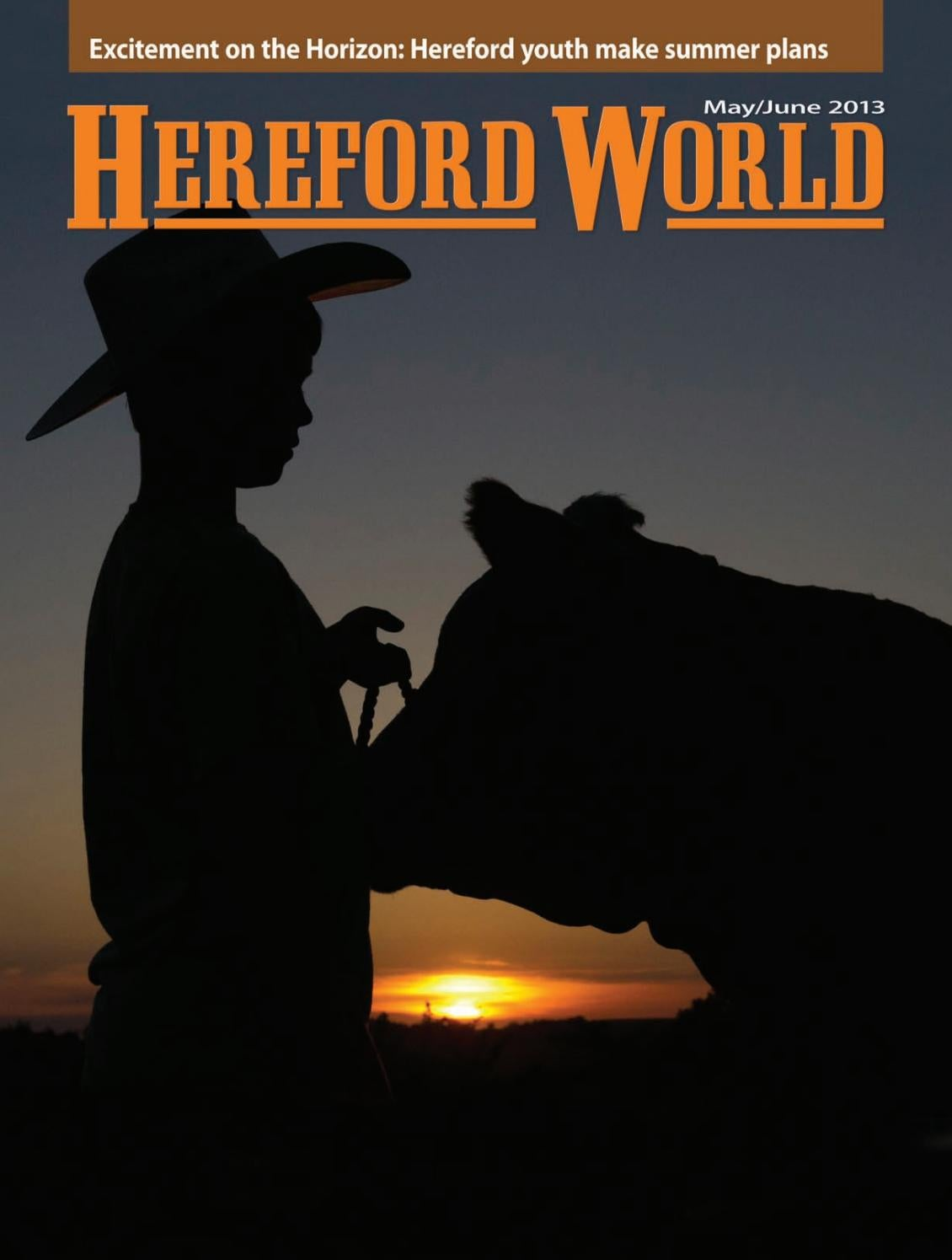 Mayjune 2013 hereford world by american hereford association and mayjune 2013 hereford world by american hereford association and hereford world issuu kristyandbryce Choice Image