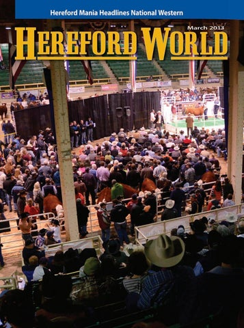 March 2013 Hereford World By American Hereford Association And