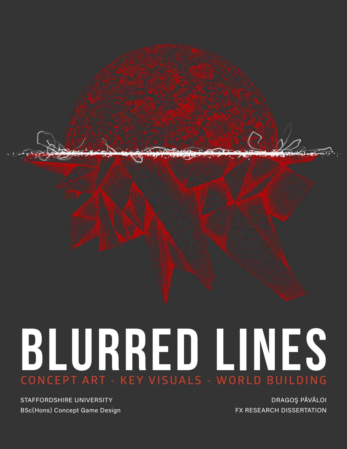BLURRED LINES | Concept & Key Art Research by GRAFO - issuu