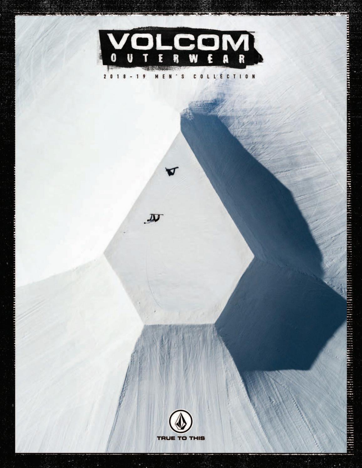 Snowboarding Volcom Analyzer Jacket Men/'s 2019 Black//Green New