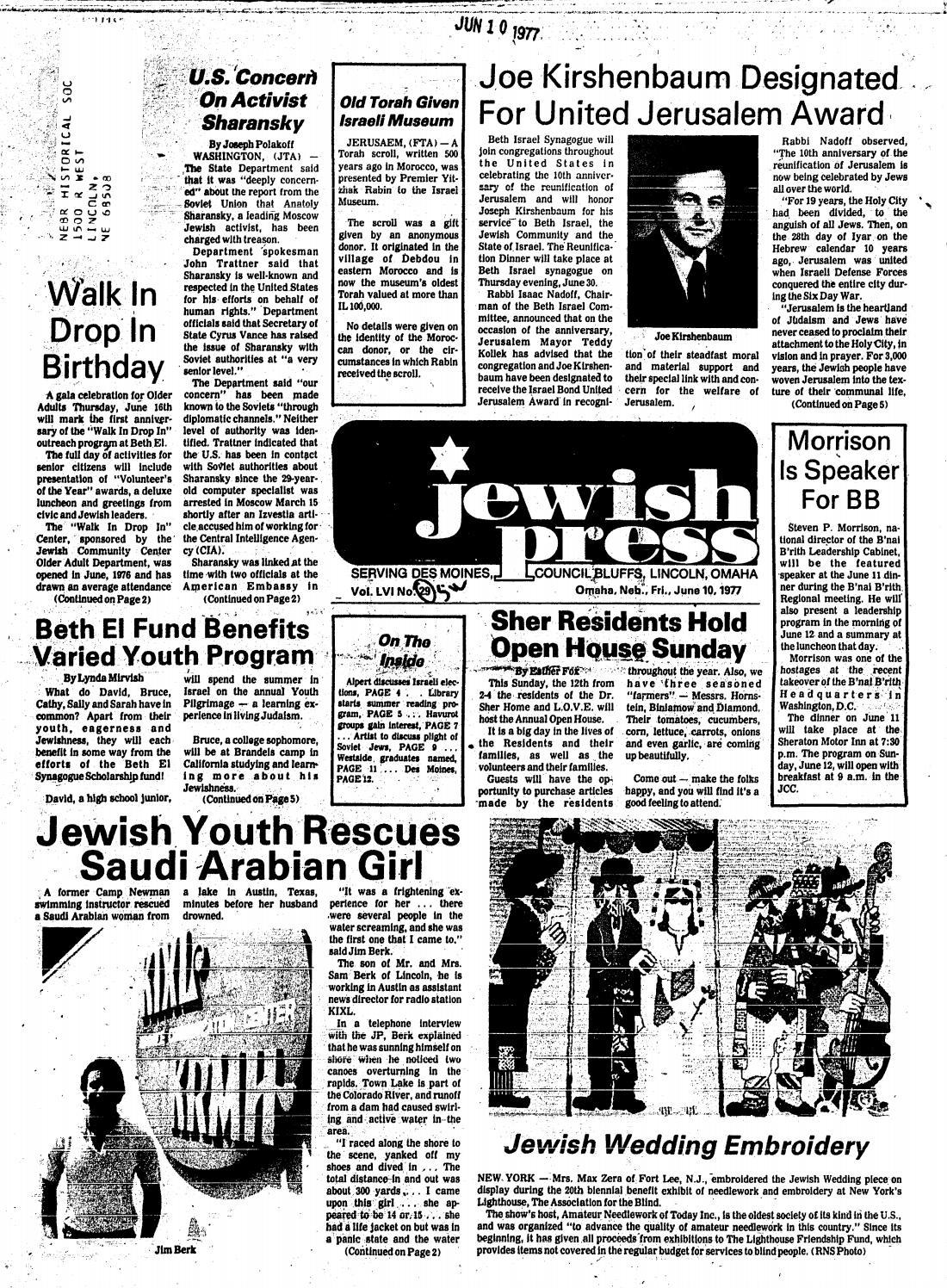 June 10 1977 By Jewish Press Issuu