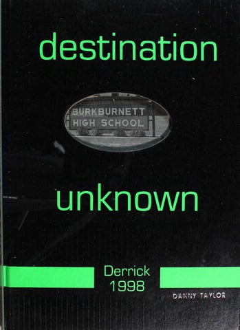 Burkburnett high school yearbook derrick 1998 by designworks group page1thumblargeg fandeluxe Choice Image