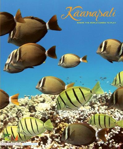 6282f1595b96 Kaʻanapali Magazine Spring Summer 2018 by Maui No Ka  Oi Magazine ...