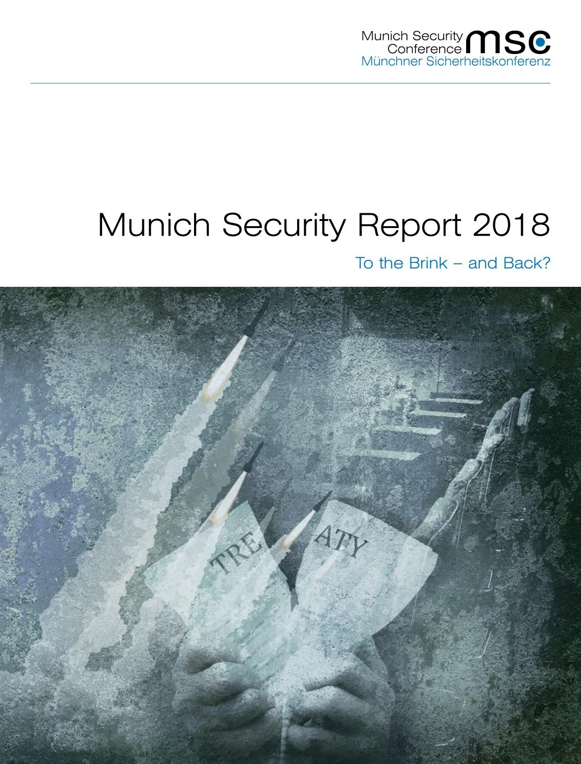 Munich Security Report 2018 by Munich Security Conference
