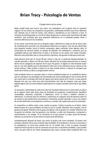 Estrategias Eficaces De Ventas Brian Tracy Ebook Download