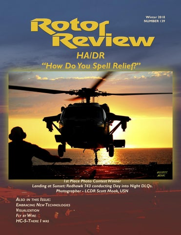 f97abd35354 Rotor Review 139 - Winter 2018 by Naval Helicopter Association
