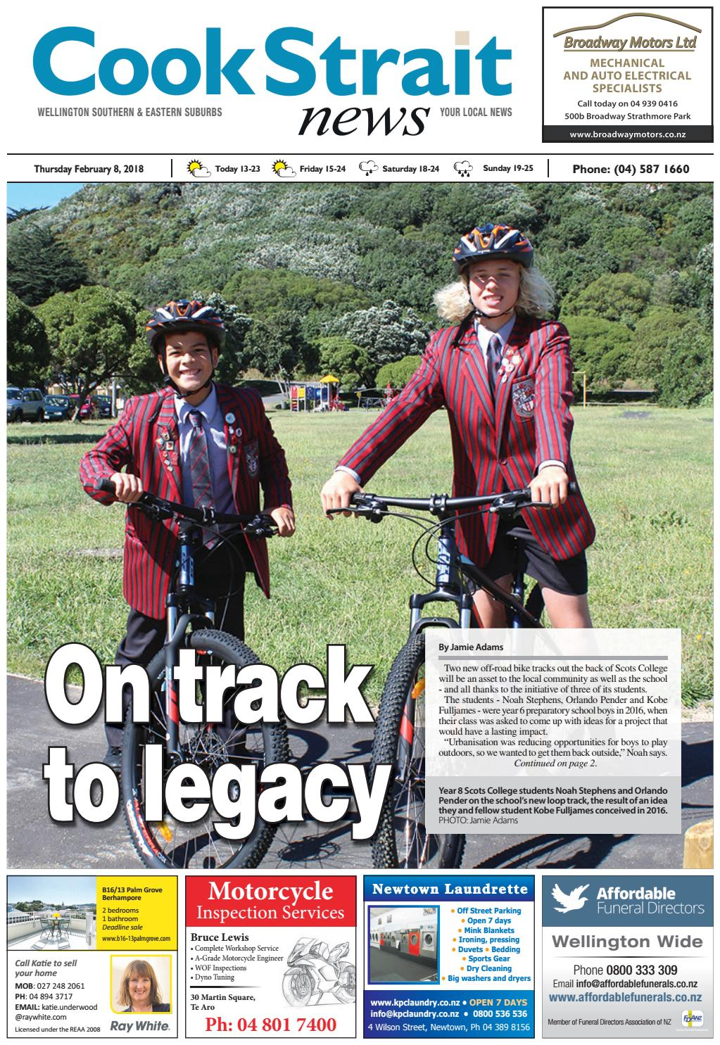 Cook Strait News 08-02-18 by Local Newspapers - issuu