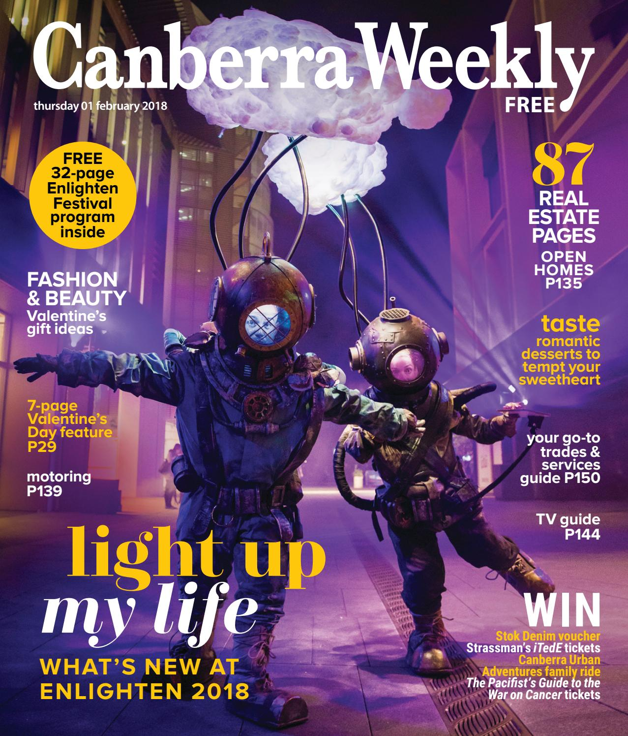 8888502ca5b 01 February 2018 by Canberra Weekly Magazine - issuu
