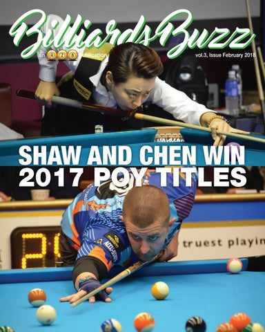 Billiards Buzz - February 2018 by AzBilliards - issuu