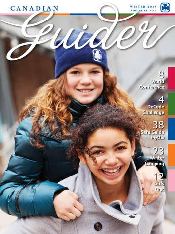 23128fc8bf7 Canadian Guider Winter 2018 by Canadian Guider  Girl Guides of ...
