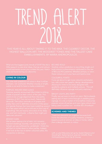 Page 4 of Trend Alert 2018