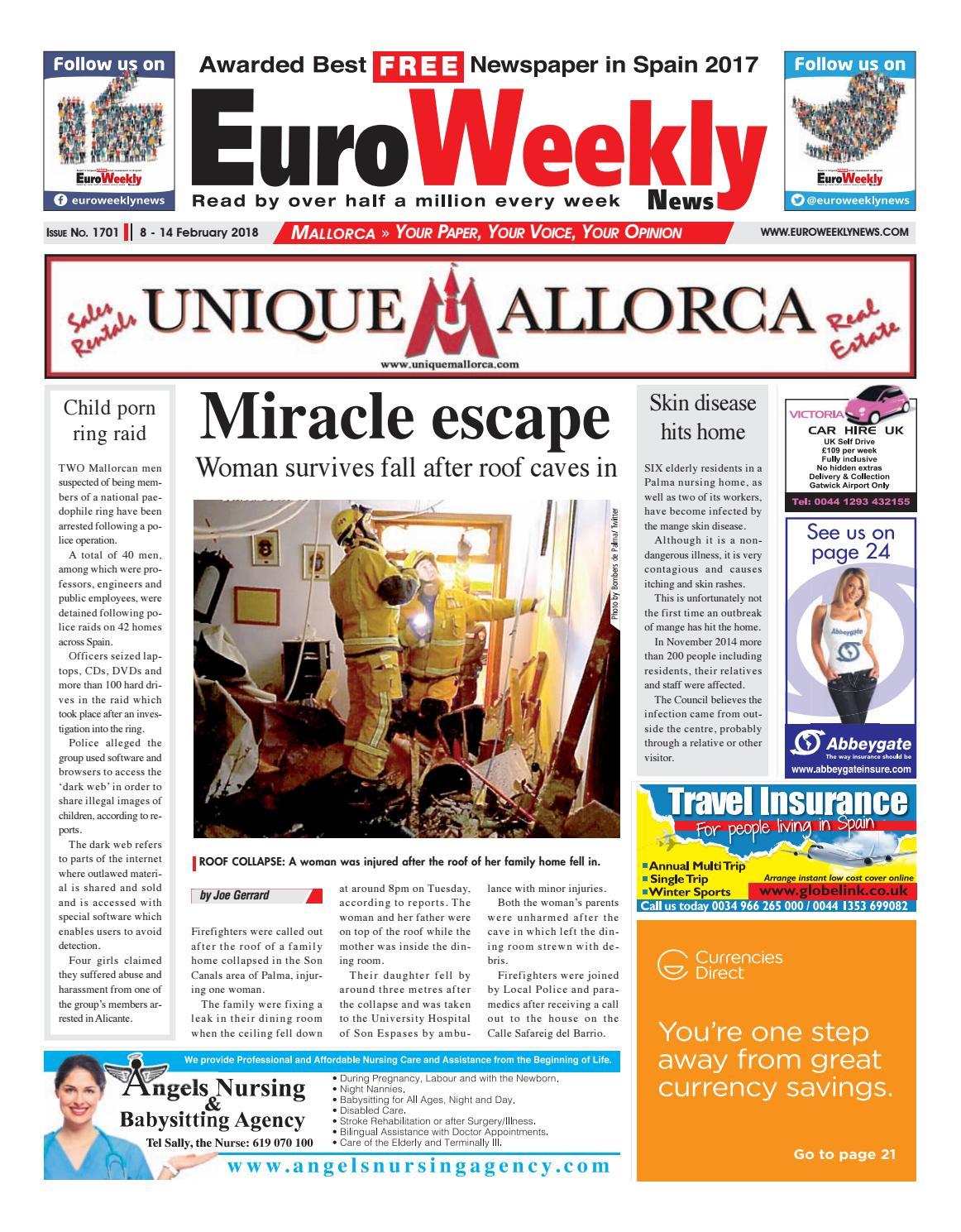 Ainhoa Madrid David Moreno Porno euro weekly news - mallorca 8 - 14 february 2018 issue 1701