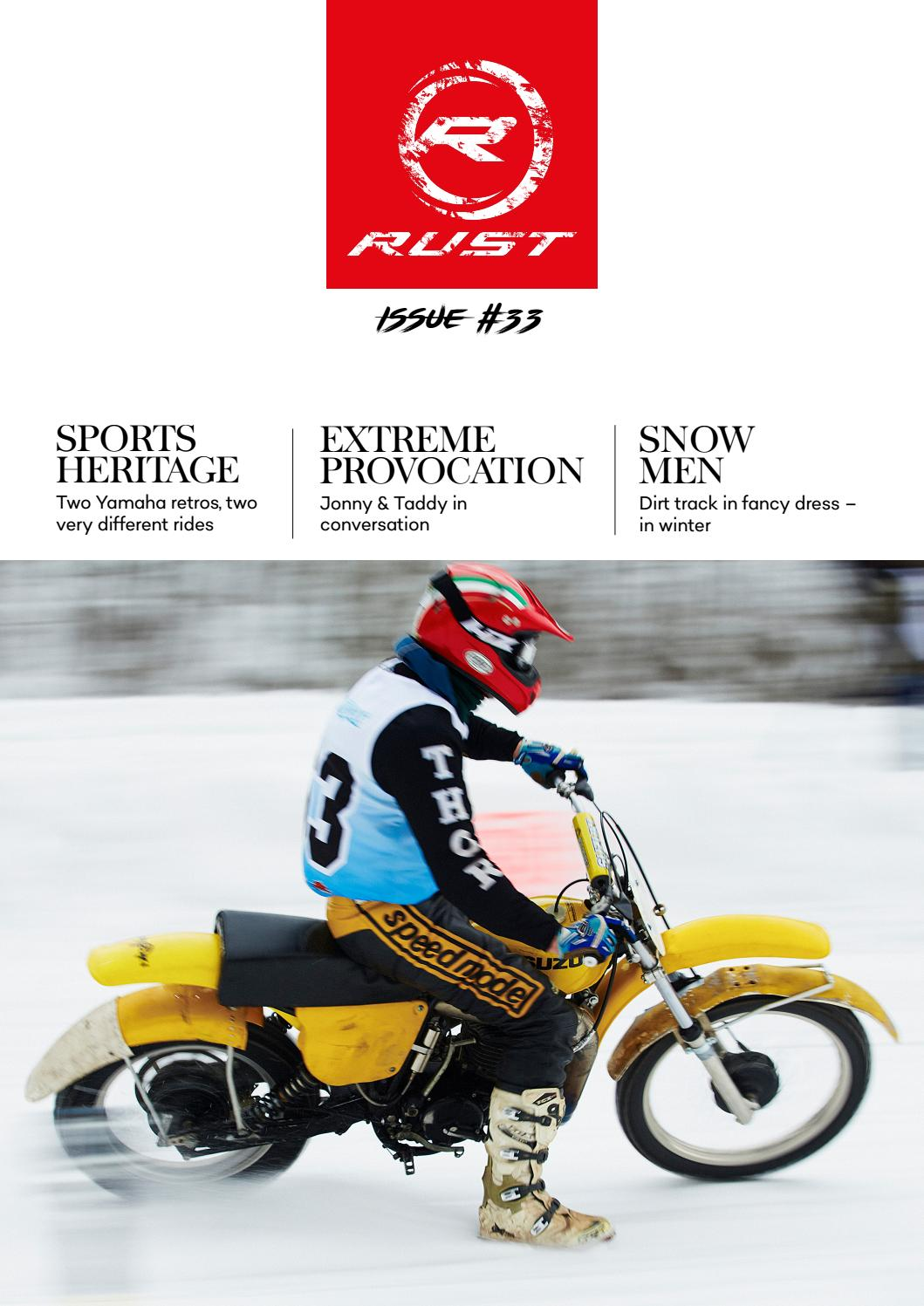 Rust Magazine Issue 33 By Rustsportscom Issuu Xs750e Yamaha Motorcycle Front Disc Brake Caliper Diagram And Parts