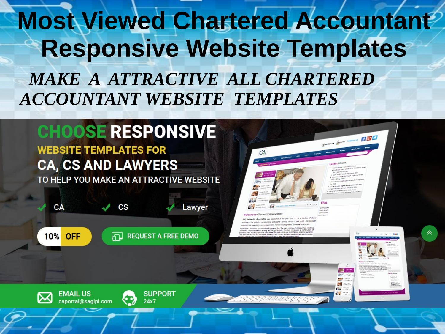 Professional Layouts For Chartered Accountant Website Template By Akhil Jain Issuu