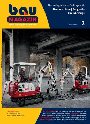 bauMAGAZIN Februar 2018 by SBM Verlag GmbH - issuu