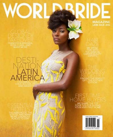 World Bride Magazine International Multi Cultural Bridal