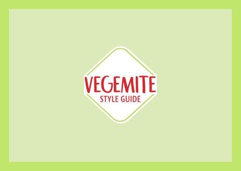 Vegemite Style Guide Rgb By Mavra Ibrar Issuu